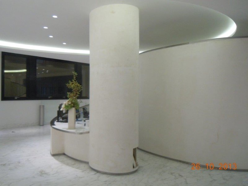 Staff corniches rosaces colonne moulure plafond staff for Chambre commerce international paris